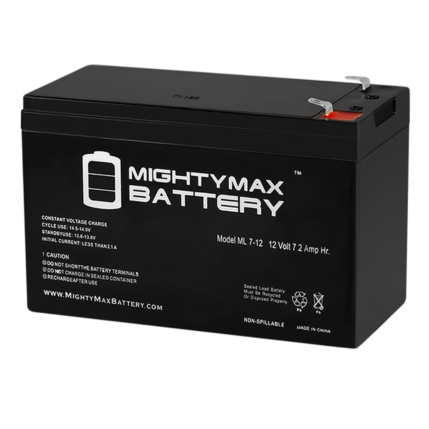 Mighty Max Battery 6V 7Ah SLA Replacement Battery for KidTrax EB670/_Kidtrax Brand Product