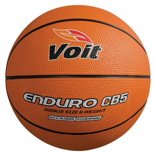 """Voit Enduro CB5 Indoor Outdoor Basketball Rookie Size (25.5"""") by BSN Sports"""