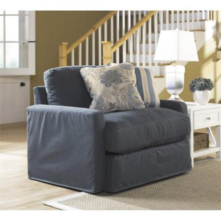 Ashley Addison Fabric Oversized Chair In Slate