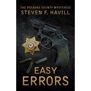 Posadas County Mysteries: Easy Errors (Paperback)(Large Print)