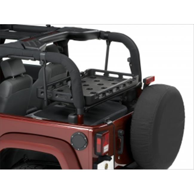 Bestop 4141201 Highrock 4 x 4 Tailgate Rack Bracket For Wrangler & Wrangler Unlimited