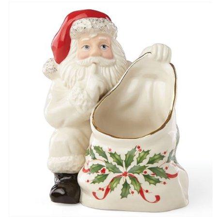 Lenox Hosting the Holidays Santa Claus Christmas Candy Dish 879344