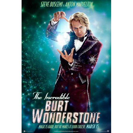 The Incredible Burt Wonderstone  2013  11X17 Movie Poster