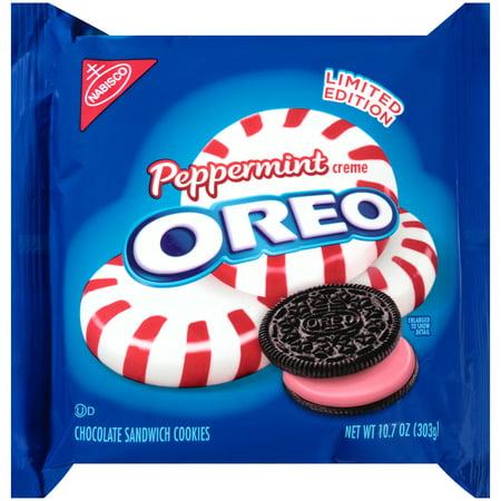 Nabisco Oreo Peppermint Creme Cookies 10 7 Oz