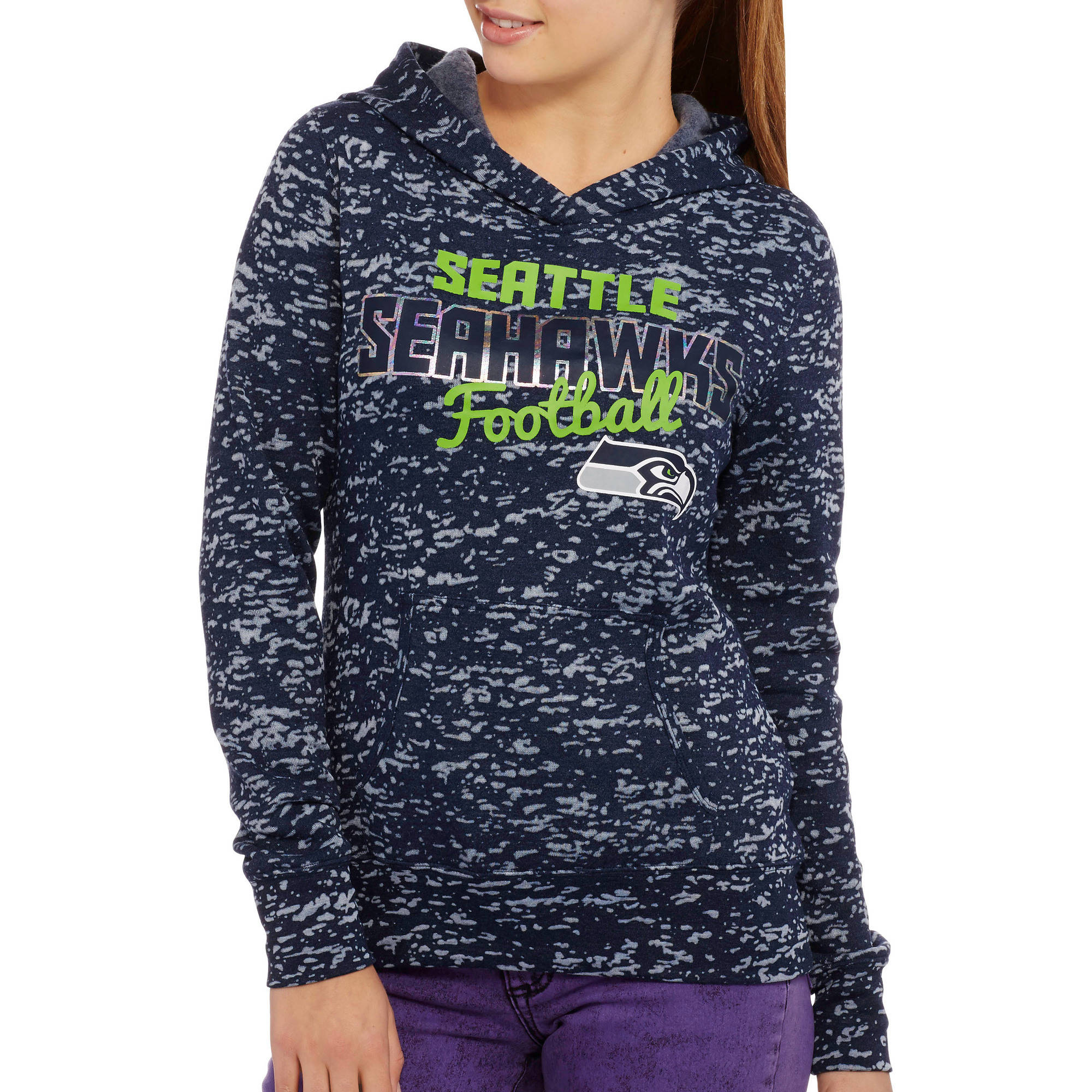 NFL Juniors Seahawks Fleece Hoodie