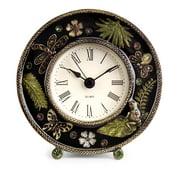 Enticing Jeweled Desk Clock