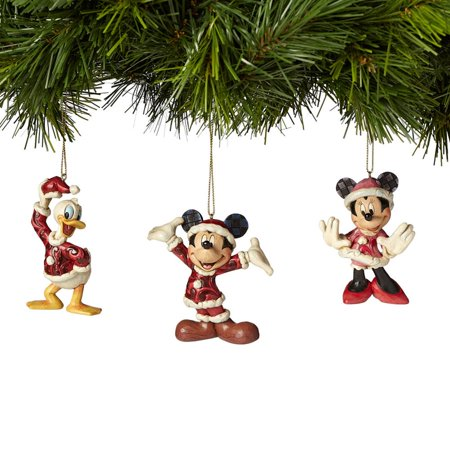 Heartwood Creek Disney Traditions 4039088 Mickey Minnie And Donald