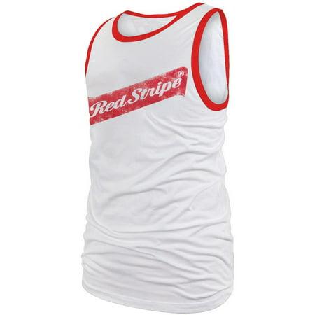 Red Stripe - Logo Tank Top