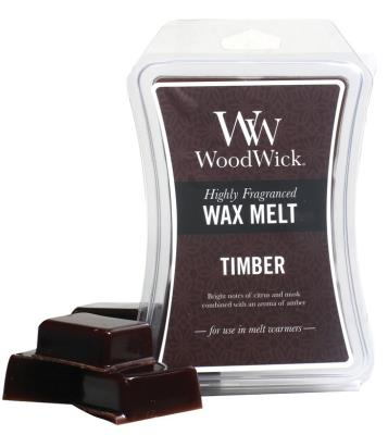 TIMBER Case of 6 WoodWick Hourglass 3 oz Wax Melts
