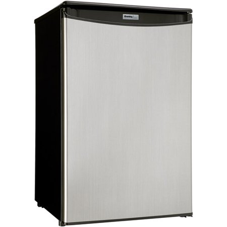 Danby Designer 4 Cu Ft Compact All Refrigerator Spotless Silver