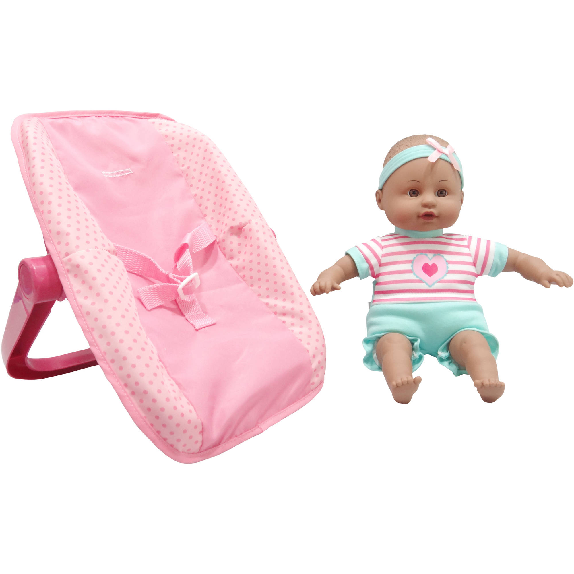 "My Sweet Love 13"" Baby with Plastic Carrier, AA, Teal"
