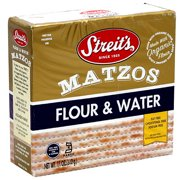 Streit's Flour & Water Matzos, 11 oz, (Pack of 12)