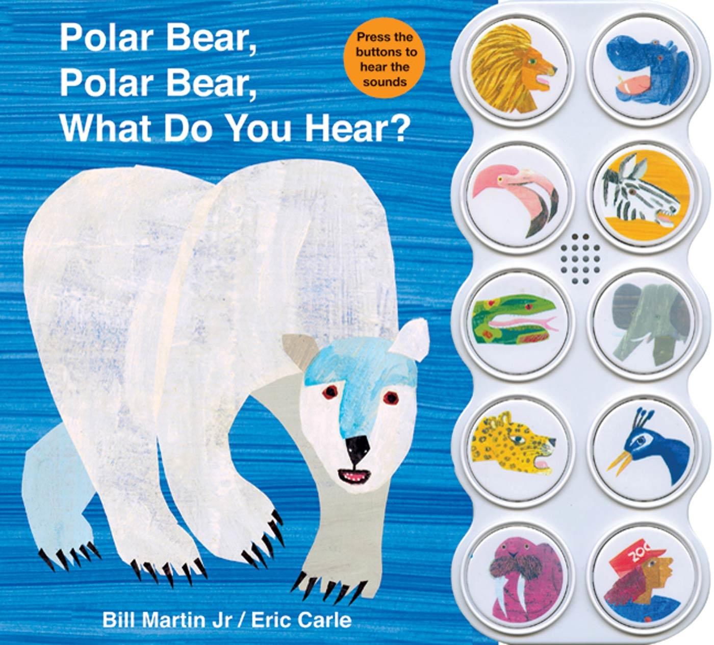 Polar Bear Polar Bear What Do You Hear (Board Book)