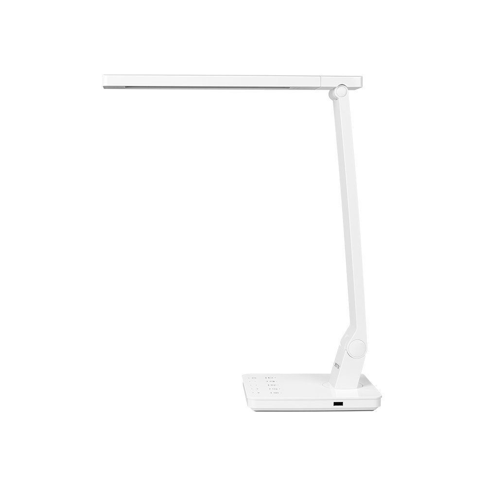 BESTEK LED Desk Lamp with 4 Lighting Modes, 5 levels Dimmable, Adjustable Arm, Full-Touch Control Panel and 2.4A USB... by Bestek