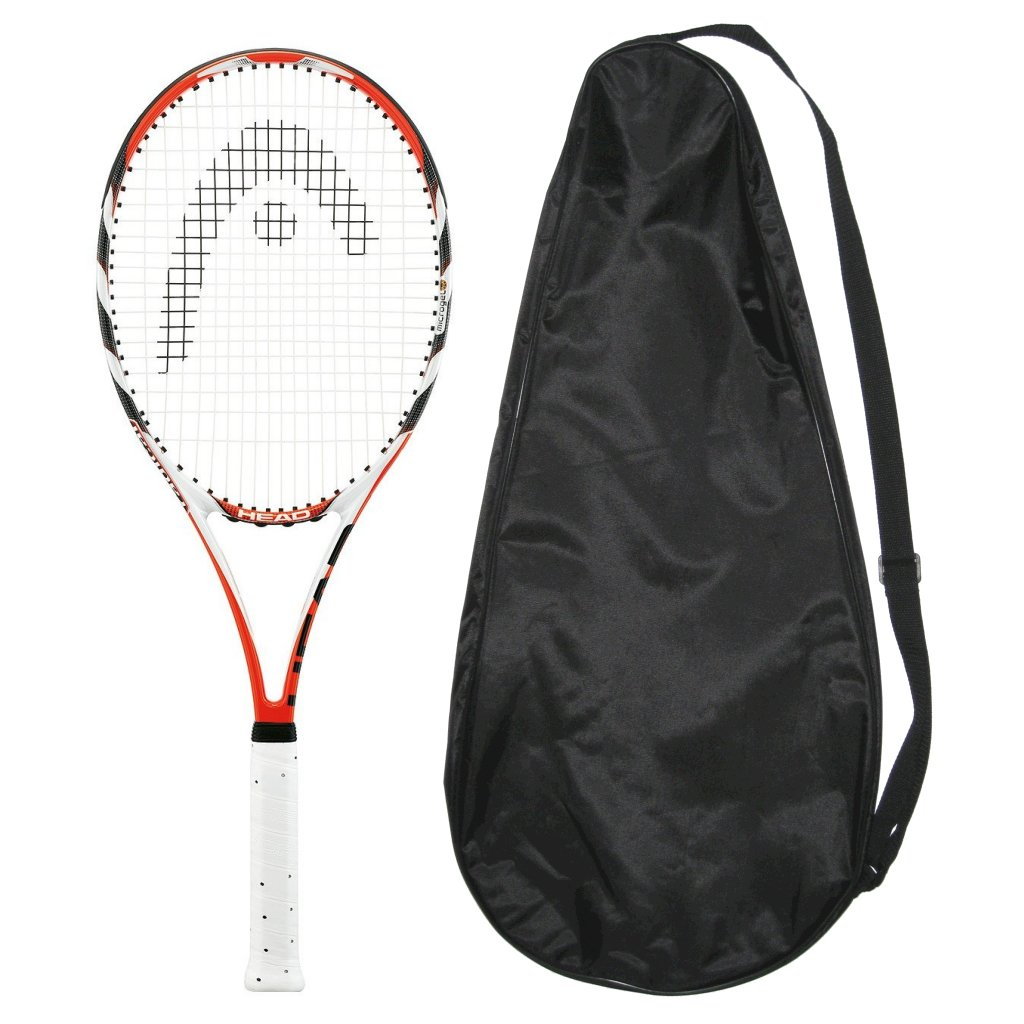 Head MicroGel Radical MidPlus Tennis Racquet - Strung wit...