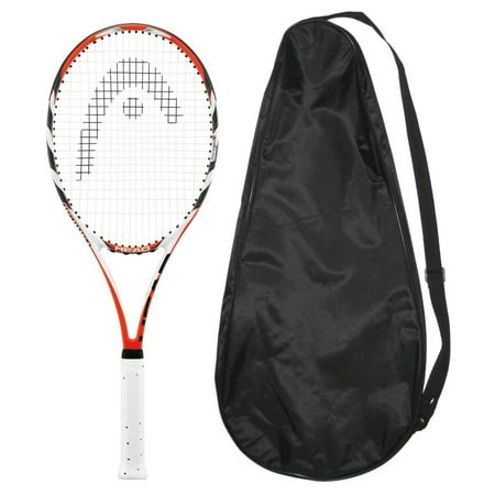 Head MicroGel Radical MidPlus Tennis Racquet - Strung with Cover - Mid plus