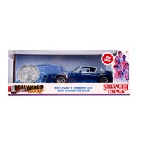 """Jada Hollywood Rides: Billy's Chevy Camaro Z28 with Collectible Coin """"Stranger Things"""" 1/24 Scale"""