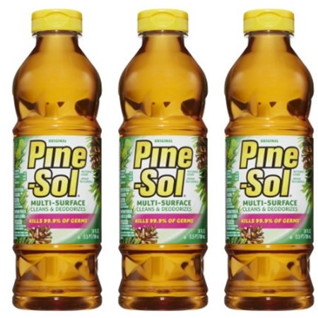 (3 Pack) Pine-Sol Multi-Surface Cleaner, Original, 24 oz Bottle 24 Ounce Daily Cleaner