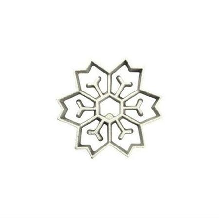 Honey-Can-Do 7130 2-In-1 Snowflake Rosette -