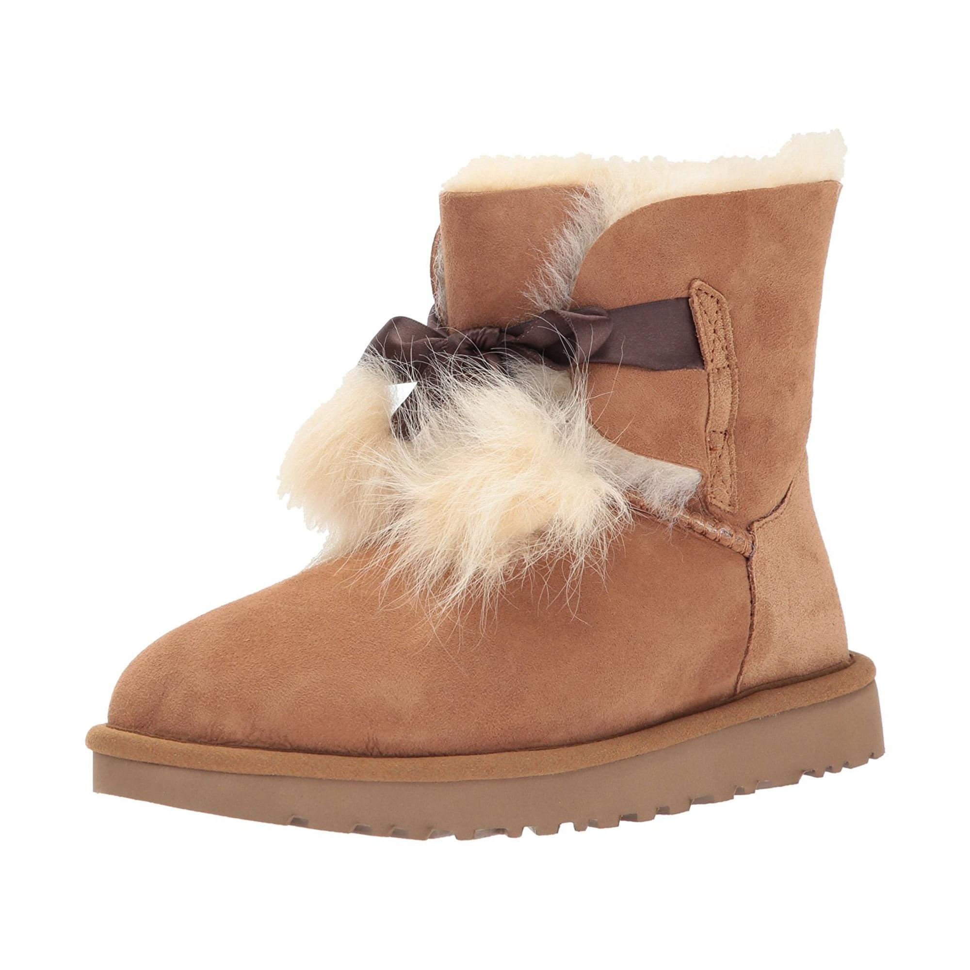 b6b94e355ee UGG Women's Gita Pom-Pom Boot | Walmart Canada