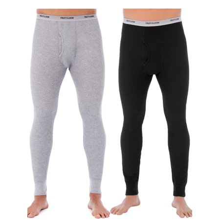 e6df1704d Fruit of the Loom - Fruit of the Loom Mens Classic Thermal Underwear  Bottom, Value 2 Pack - Walmart.com