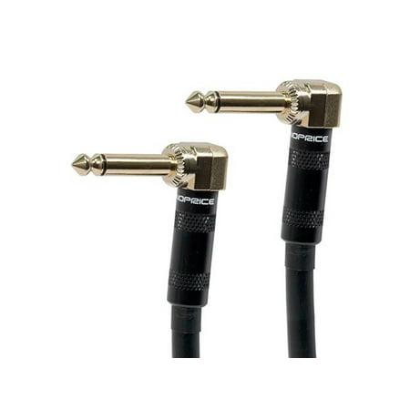 Gold Plate Audio Cable - MONOPRICE 1.5' Premier Series 1/4