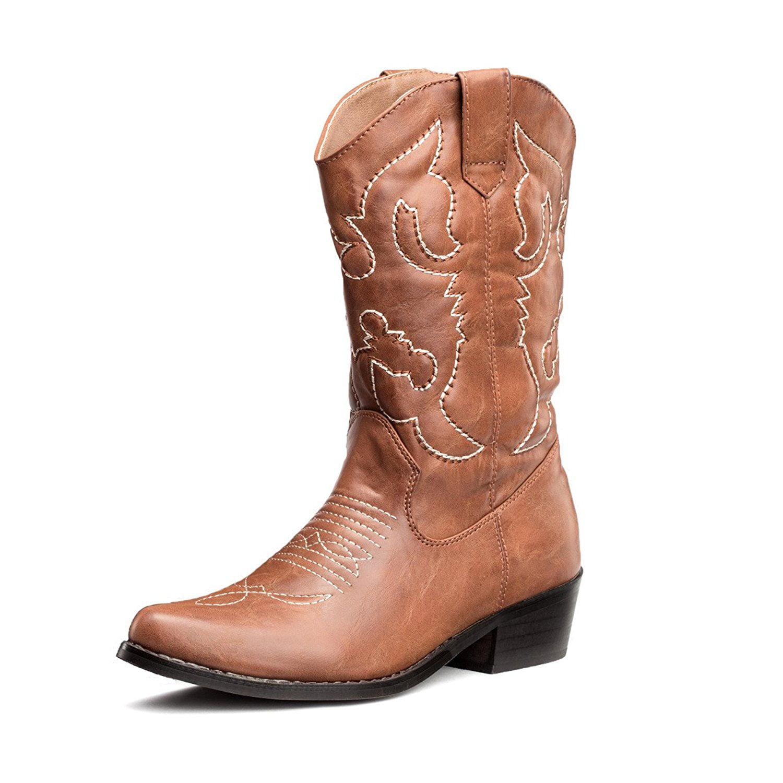 Western Cowgirl Cowboy Boots - Walmart