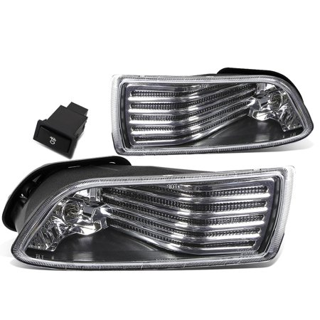 For 2005 to 2010 Scion tC Pair of Bumper Driving Fog Lights w / Switch (Clear Lens) 06 07 08 09