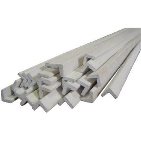 Finger Joint Pine (00170-93096C1 8 ft. Finger Joint Primed Ponderosa Pine - Outside Corner Moulding, Pack Of 10 )