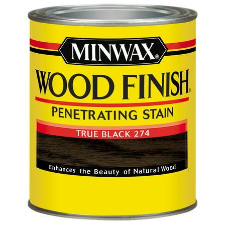 Minwax® Wood Finish™ True Black, Half Pint