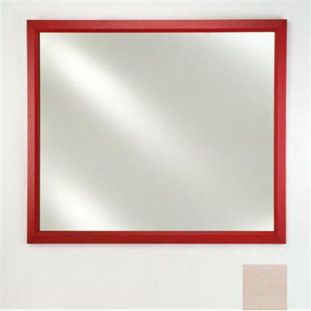 Left Hand Plain Mirror (Afina Corporation FM2030ARLPK 20 in.x 30 in.Framed Plain Mirror - Arlington Pickled )