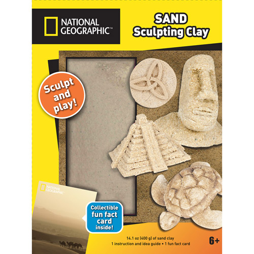 National Geographic Sculpting Clay, Sand
