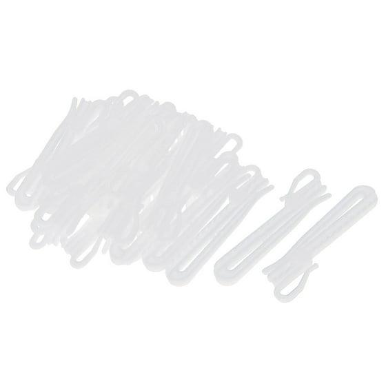 25pcs Plastic Adjustable Depth Pinch Pleat Locking Curtain