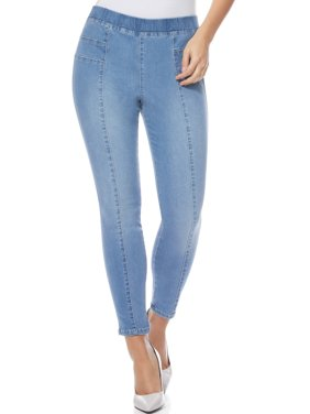 Sofia Jeans by Sofia Vergara Rosa Curvy High Waist Pull-On Ankle Jeans, Women's