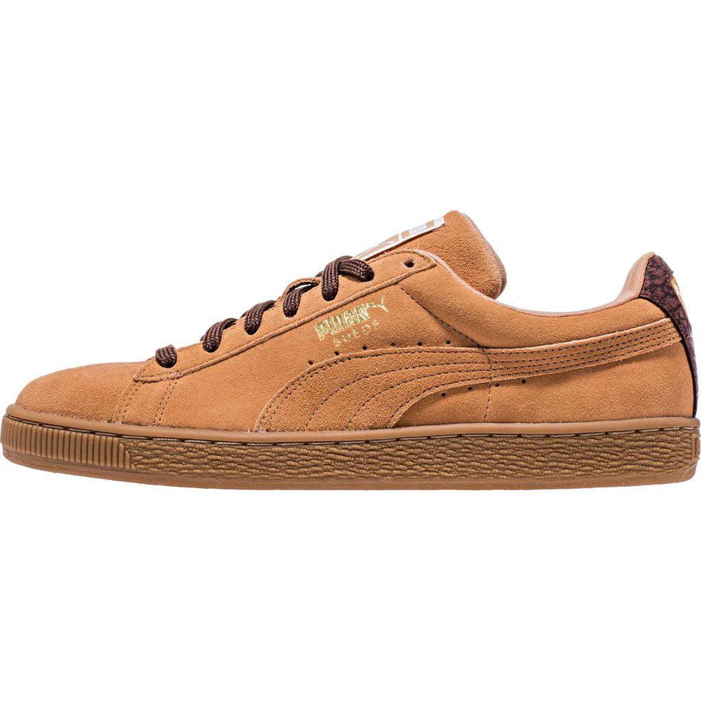 PUMA Fashion Men's Suede Classic Casual Fashion PUMA Sneakers, Sandstorm/Oxblood/Gum, 9 D US e117be