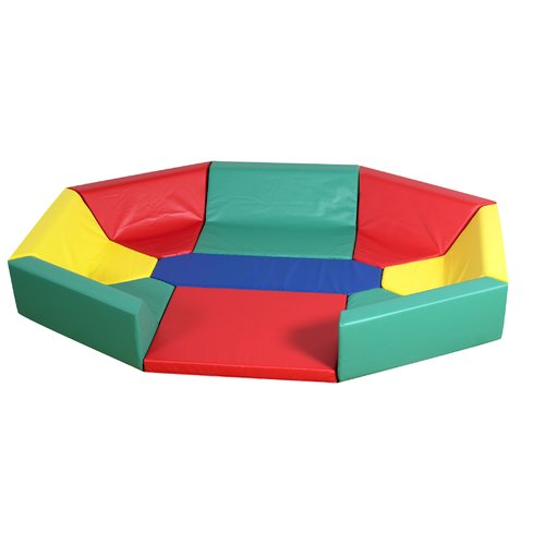 CHILDREN'S FACTORY Primary Soft Octagonal Hollow Customiz...