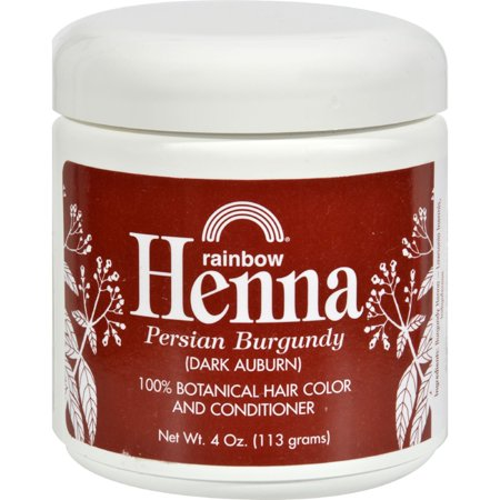 Rainbow Research Henna Hair Color and Conditioner Persian Burgundy Dark Auburn - 4