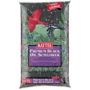 Kaytee 100033658 Black Oil Sunflower Bird Seed, 5 lb