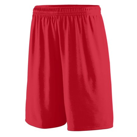 Augusta TRAINING SHORT RED XL