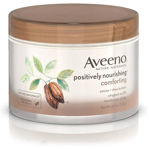 Aveeno Positively Nourishing Comforting Whipped Souffle 6 oz