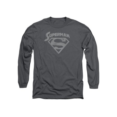Superman DC Comics Super Arch Adult Long Sleeve T-Shirt - Superman T Shirt For Womens