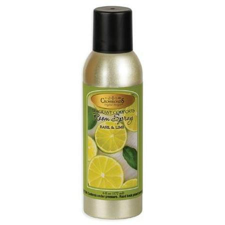 France Lime Basil - Crossroads Room Spray 6 Oz. - Basil & Lime