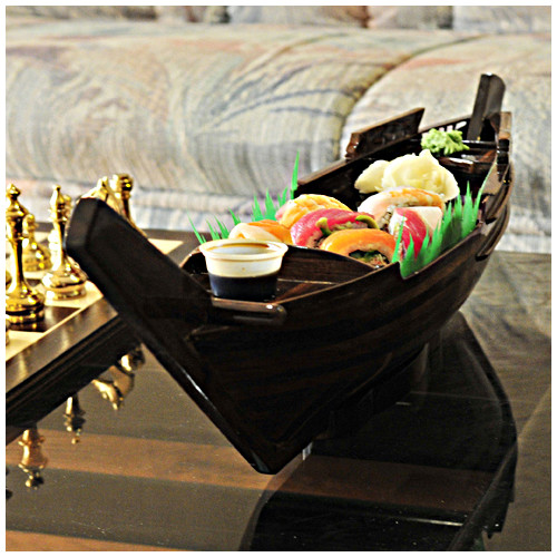 Old Modern Handicrafts Dhow Boat Sushi Tray by Overstock