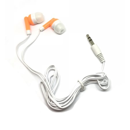 TFD Supplies Wholesale Bulk Earbuds Headphones 50 Pack For Iphone, Android, MP3 Player -