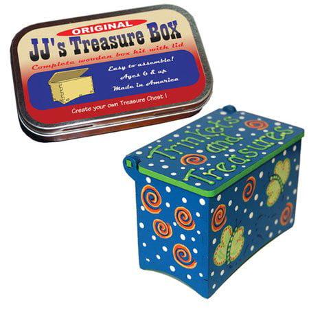 Wood Craft Kit, Treasure Box