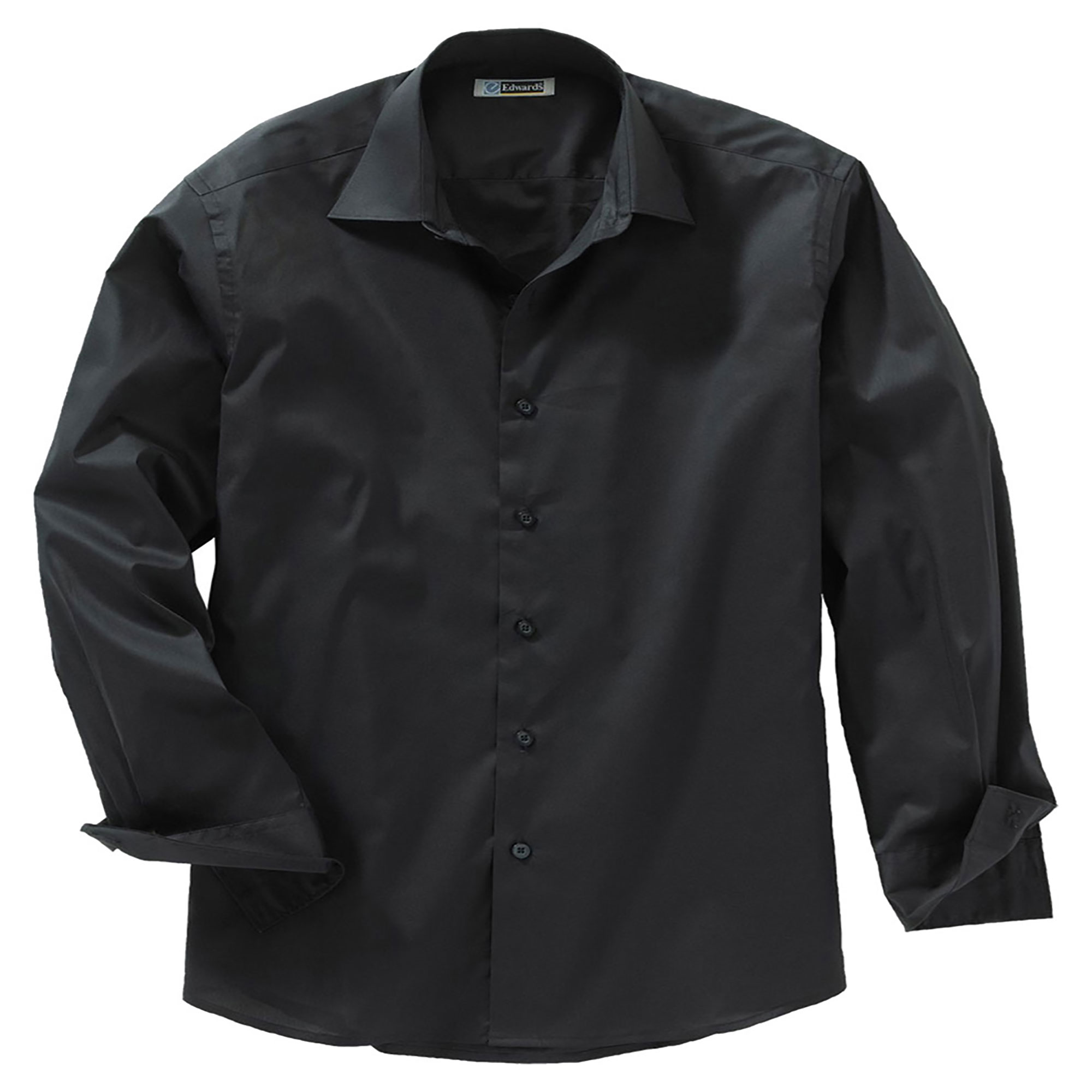 Edwards Garment Men's Big And Tall Wrinkle Resistant Dress Shirt, Style 1033