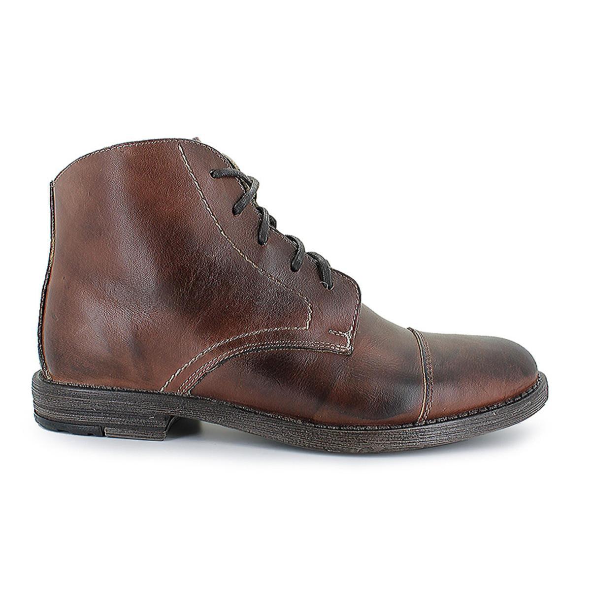 Bedstu Men's Ross Teak Rustic Boot