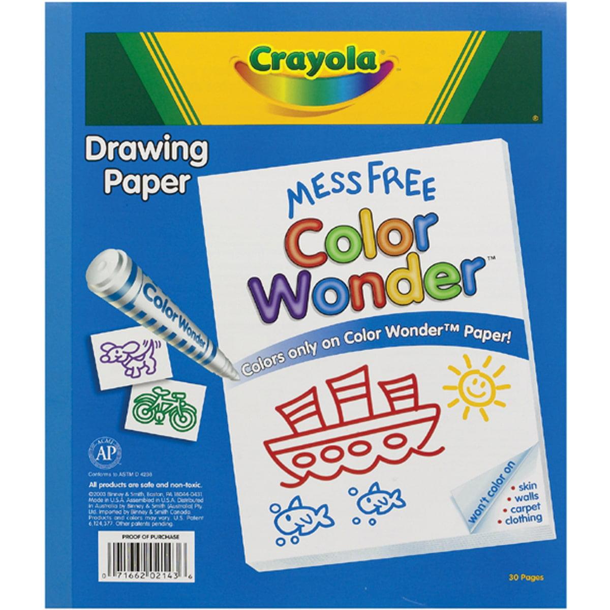 Crayola Color Wonder Refill Paper Pad Walmartcom
