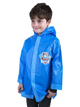 Toddler Paw Patrol Boys Rain Slicker Size 6-7 (Large)