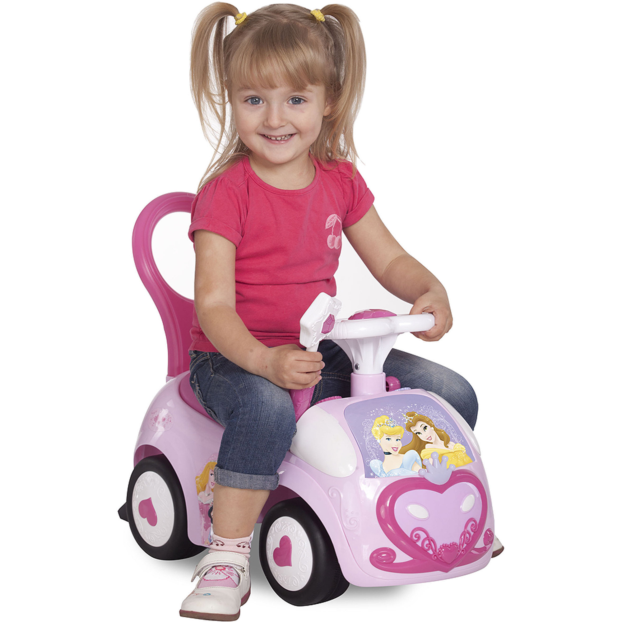 Kid land Disney Dancing Princess Activity Ride Walmart